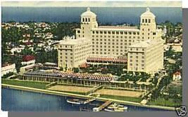 PALM BEACH, FLORIDA/FL POSTCARD, Palm Beach Biltmore - $4.50