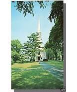 HARWICH, MASS/MA POSTCARD,First Congreg Church,Cape Cod - $4.00