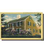 NORTH BREWSTER, MASS/MA POSTCARD, Old Cape Cod House - $4.00