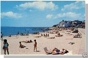 FALMOUTH, MASS/MA POSTCARD, Falm Heights Beach/Cape Cod