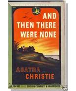 AND THEN THERE WERE NONE, Agatha Christie, Pocket,1945 - $12.00