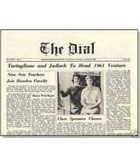 1960 HAMDEN, CONN/CT HIGH SCHOOL NEWSPAPER, The Dial - $12.00