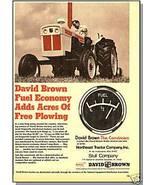 Classic 1971 DAVID BROWN AD, Northeast Tractor Company - $8.00