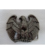 Vintage 80s AVON Perched Eagle Thick Metal Belt Buckle  T103 - $24.26