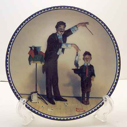 The Magician-Rockwell Plate