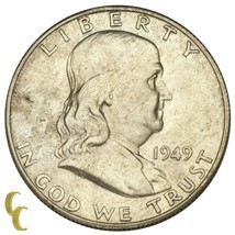 1949-S Argent Franklin Demi Dollar 50C (Choix Bu État) - $83.07
