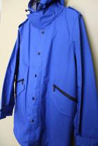 NWT Michael Kors Designer Men's Royal Blue Long Parka Hooded Jacket Coat... - $189.00