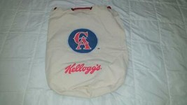 2004 California Angels Kelloggs Drawstring Bag Backpack - $29.99
