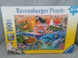 Beautiful Ocean 100 PIECE JIGSAW PUZZLE  NEW ships with UPS - $10.07