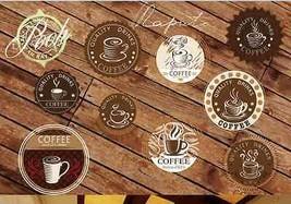 3D Coffee icon 1344 Fototapeten Wandbild Fototapete BildTapete FamilieDE - $52.82+