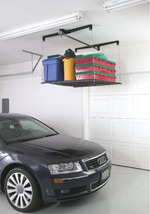 Garage Pulley Overhead Ceiling Storage Rack Lift System - $224.05