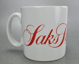 John Buck Saks Fifth Avenue Coffee Mug Cup Made in England - $7.75