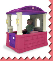 Kids Girls Pink Pretend Play House Indoor/ Outdoor Toy Home House Child ... - $169.99