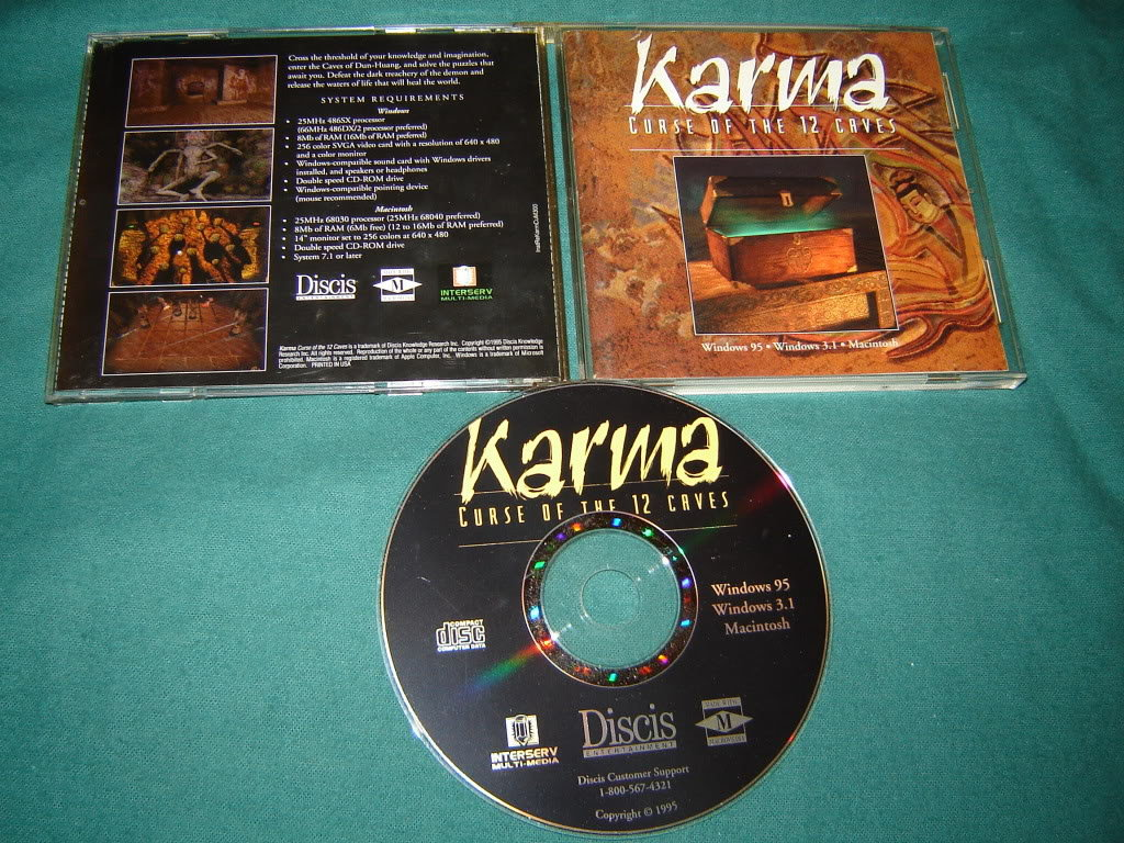 Karma Curse of the 12 Caves PC and Mac CD-ROM Game