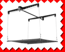 Pulley Overhead Ceiling Storage Rack System Lift Kit - $224.00
