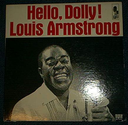 LOUIS ARMSTRONG Hello Dolly LP record album