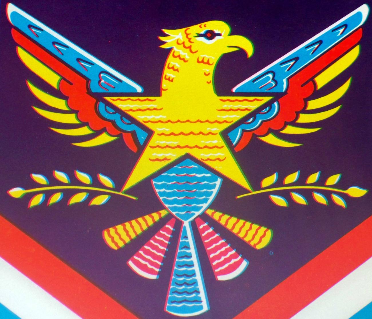 American eagle broom label 002