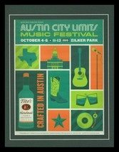 2019 Tito's Vodka Austin City Music Festival Framed 11x14 ORIGINAL Adver... - $32.36