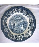Vintage Royal Warwick Lachs of Scotland Loich Oich Blue & White Dinner P... - $7.99
