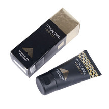 2pcs Original Titan Gel Gold Russia Penis Enlargement Cream Retarder Int... - $35.53