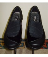 Women's Aravon New Balance Black Smooth/Patent Leather Stretch Loafer Sz. 7.5B - $37.12