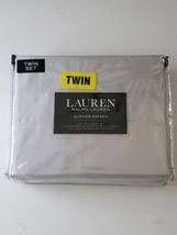 COMFY and SOFT Lauren, Ralph Lauren-Dunham Sateen - Twin Sheet Set – Gray - $49.49