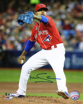Marcus Stroman Signed Toronto Blue Jays Pitching Action 8x10 Photo - $70.00