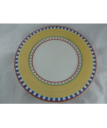 Villeroy & Boch Twist Bea Yellow Blue green red Germany Dinner Plate 10 ... - $20.78