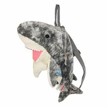 Stuffed Backpack Shark By Aurora Plush Toy Japan New - $38.07