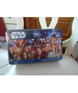 Star Wars 3 in 1 Panoramic 211 Piece Puzzle #18467 New 2010 In Tin - $13.00
