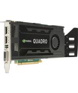 3GB HP Quadro K4000 GDDR5 PCI Express 2.0 x16 2x Displayports DVI Graphi... - $144.79