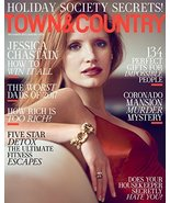 Town & Country Magazine (December 2017 January 2018) JESSICA CHASTAIN [S... - $8.90