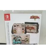 Controller Gear Nintendo Switch Skin & Screen Protector The Legend of Ze... - $15.91