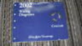 2002 Mercury Cougar Elektrischer Draht Diagramme EVTM EWD Shop Serviceha... - $37.57