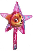 12 Paw Patrol Skye Star Wand 36 Inch Inflatable Novelty Inflate Toy New Girls - $33.35