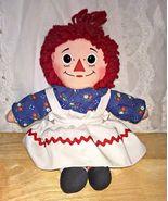 """Playskool Raggedy Ann Doll 12"""" Long - $5.00"""