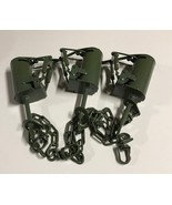 3 Powder Coated FPS DP Dog Proof Coon Traps Trapping Raccoon NEW SALE - $46.00
