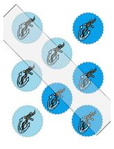 Scallop Circles 15-Download-ClipArt-ArtClip-Digital Tags-Digital - $3.99