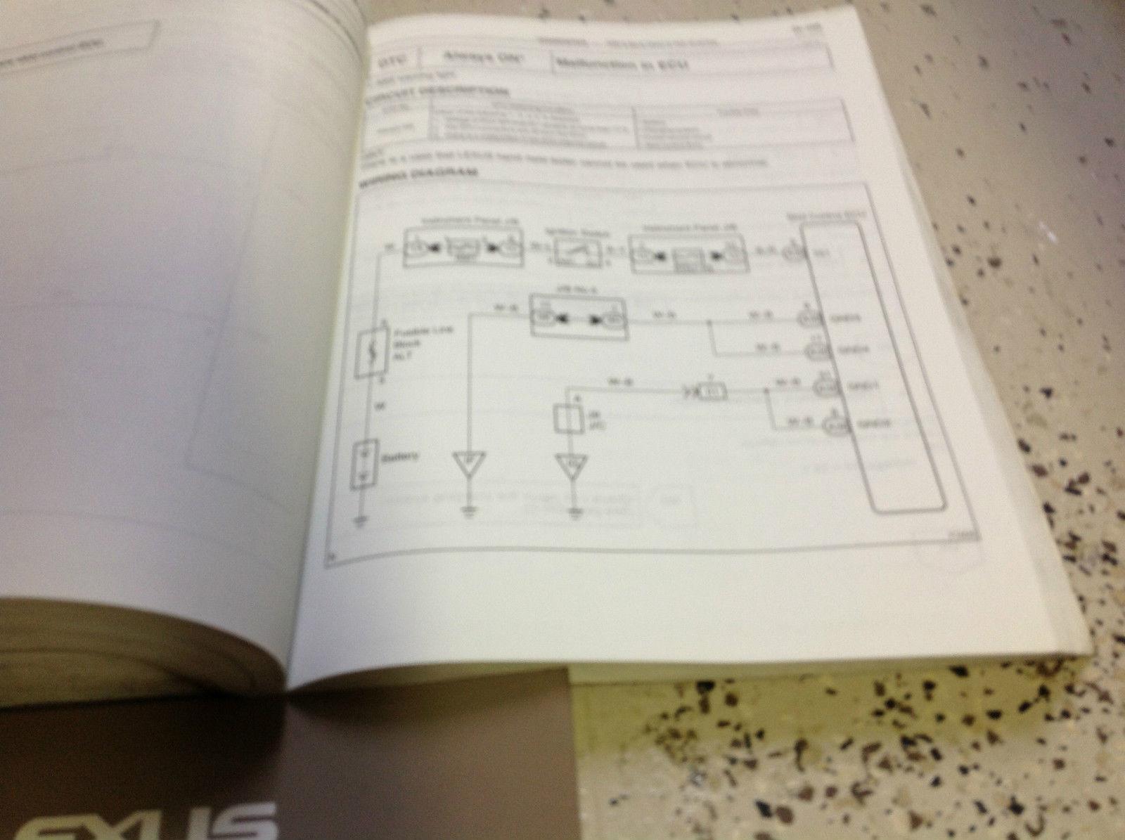 2002 LEXUS RX300 RX 300 Service Shop Repair Manual SET FACTORY E EWD & TRANS x
