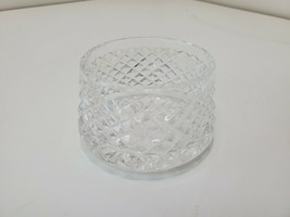 Waterford Crystal Alana Pattern Open Sugar Bowl 4 1/2 Wide X 2 1/2 Tall ... - $32.74