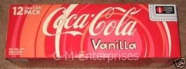 Coke Vanilla Flavored Cola 12 pack Coca Cola - $22.28