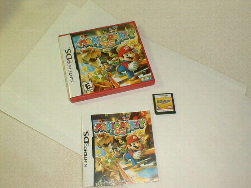 Mario party ds 2007 nintendo ds tested game authentic