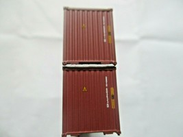Jacksonville Terminal Company # 405086 MOL (brown) CGM 40' High-Cube Container N image 2