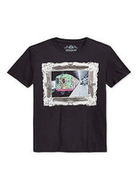 NEW MENS AMERICAN RAG BLACK NEW YORK SUBWAY GRAPHIC PRINT T SHIRT TEE - $11.99