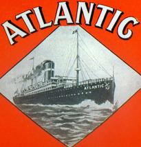 Steamship Disaster! SS Atlantic Label, 1920's - $1.59
