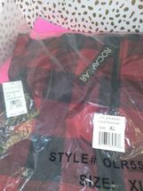 Rocawear Women's Black & Red Plaid Hooded Jacket Sz XL -NEW WITH TAGS- STORE image 6