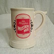 Old Milwaukee Beer Mustache Mug - $12.00