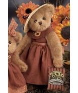 """Bearington Bear """"Sunny Sunflowers"""" 14"""" Collector Bear- #179808-  New- 2007 - $39.99"""