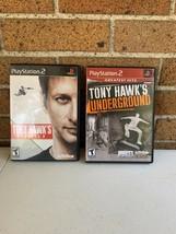 Tony Hawk's Project 8 & Underground (Sony PlayStation 2 PS2) - $19.99