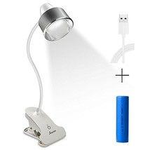 Anpress 6W Dimmable Clamp on Desk Light Flexible Clip on Light Music Sta... - $41.91